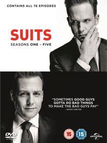 Suits Seasons 1-5 (DVD)