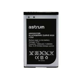 Astrum Replacement Battery for BB Curve 8520 / CS2 - AB8520