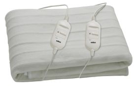 Salton - Electric Blanket - White