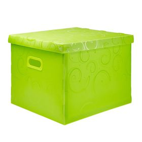 Meeco Creative Collection P.P Archive Size Storage Box - Green