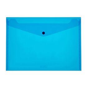 Meeco A4 PP Document Envelope - Blue