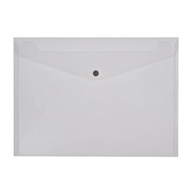 Meeco A4 PP Document Envelope - Clear