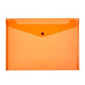 Meeco A4 PP Document Envelope - Orange
