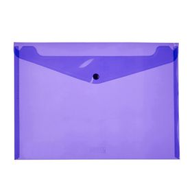 Meeco A4 PP Document Envelope - Violet