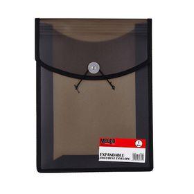 Meeco Expandable Document Envelope - Black