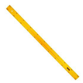 Meeco Black / White Board 1m Ruler