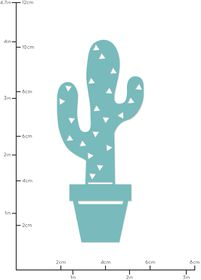 Kaisercraft Cutting Dies - Potted Cactus