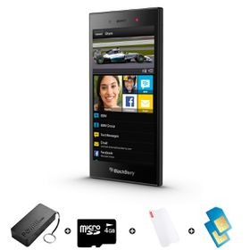 Blackberry Z3 8GB 3G Black - Bundle 4 incl. R600 Airtime + 1.2GB Starter Pack + Accessories