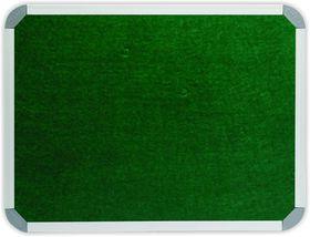 Parrot Info Board Aluminium Frame - Green Felt (900 x 900mm)