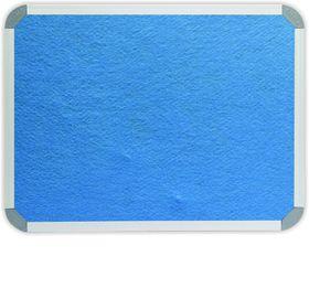Parrot Info Board Aluminium Frame - Sky Blue Felt (1200 x 900mm)