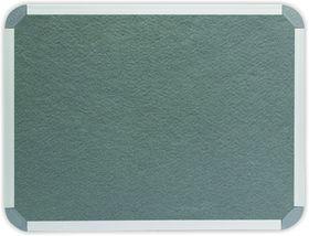 Parrot Info Board Aluminium Frame - Grey Felt (1200 x 1000mm)