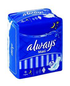 Always Maxi Night Extra Long - 8s