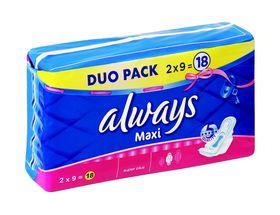 Always Maxi Super Plus - 18s