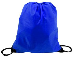Marco 210T Poly String Bag - Royal Blue