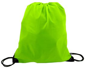 Marco 210T Poly String Bag - Lime Green