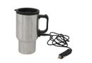 Marco Car Charger Mug - Silver/Black