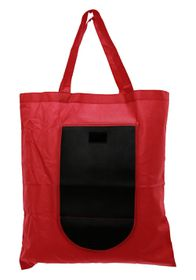 Marco Foldable Shopper Bag - Red