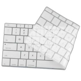 "Tuff-Luv Silicone Keyboard Protection for New Macbook 12"" - White (UK/EU Keyboard Layout)"