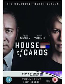 House of Cards: Season 4 (DVD)