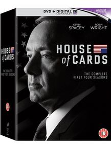 House of Cards: Seasons 1-4 (DVD)