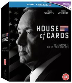 House Of Cards Complete 1-4 (Parallel Import - Blu-ray)
