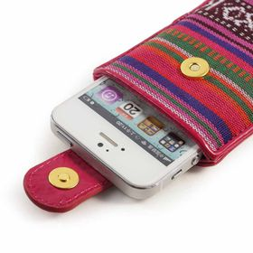 Tuff-Luv Navajo Womens Pouch for iPhone 5/5S/SE - Multi colour