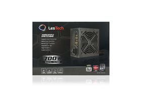 Lestech 700w - 80+ Power Supply
