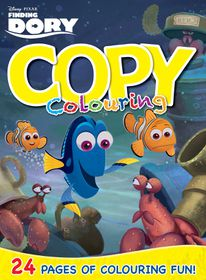 Finding Dory 24 Page Copy Colouring Book