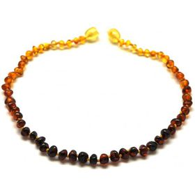 Baltic Amber - Teething Necklace - Rainbow