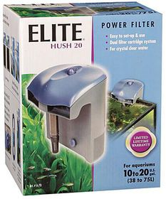 Elite -  Hush 20 Clip On Filter