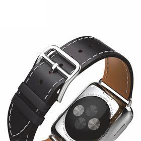 Tek88 Apple Watch 42mm Hermes Charcoal Leather Single Tour