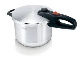 Beka - 6 Litre Pressure Cooker - Silver