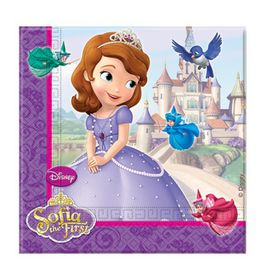 Sofia Pearl of the Sea Plastic Paper Napkins