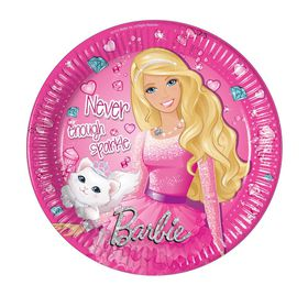 Barbie Sparkle Paper Plates