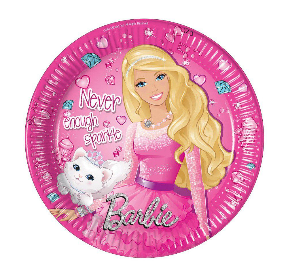 Barbie Sparkle Paper Plates. Loading zoom  sc 1 st  Takealot.com & Barbie Sparkle Paper Plates | Buy Online in South Africa | takealot.com