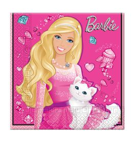 Barbie Sparkle 2 Ply Napkins