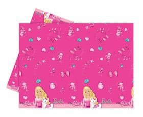 Barbie Sparkle Plastic Table Cover