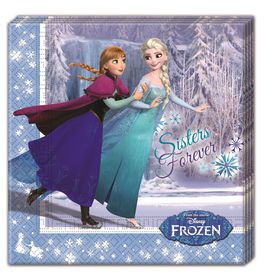 Frozen Ice Skating 2 Ply Paper Napkins