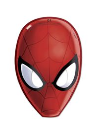 Ultimate Spiderman Web Warriors Die Cut Masks