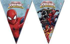 Ultimate Spiderman Web Warriors Triangle Flag