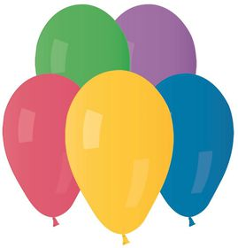 Party with Us Latex Balloons in Assorted Colours