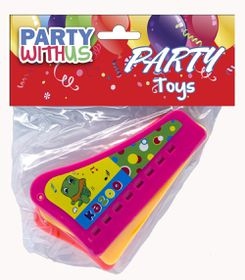 Party with Us Party Favour Harmonicon