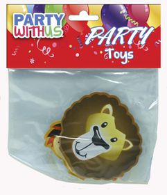 Party with Us Party Favour Zoo Animal Memo Pad
