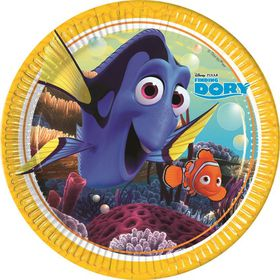 Finding Dory Paper Plates