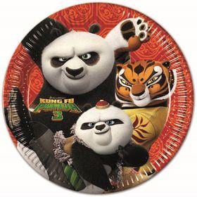 Kung Fu Panda Paper Plates