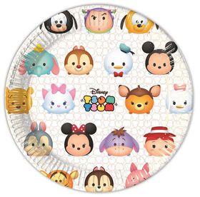 Tsum Tsum Paper Plates