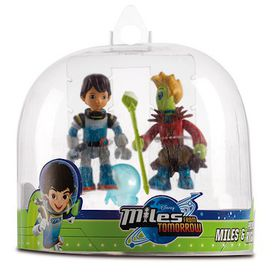Miles From Tomorrow Figures Pack 2 Miles - Miles And Prince Rygan