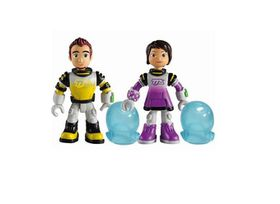 Miles From Tomorrow Figures Pack 2 Miles - Leo And Loretta