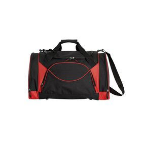 Eco Curved Front Pocket Sports Bag - Red