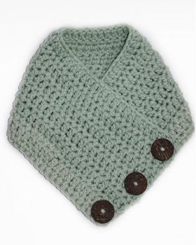 Crochet Scarf - Mint